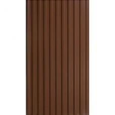 Профнастил коричневый